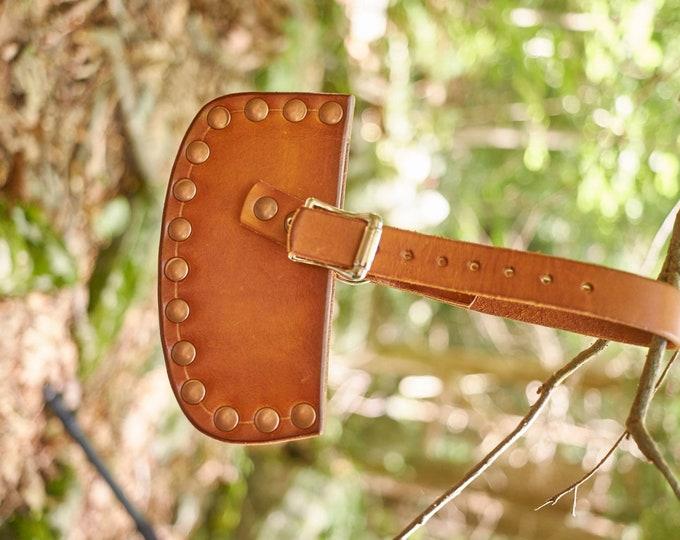 Handmade Leather axe/hatchet sheath