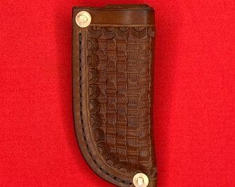 Leather Folding Knife Sheath