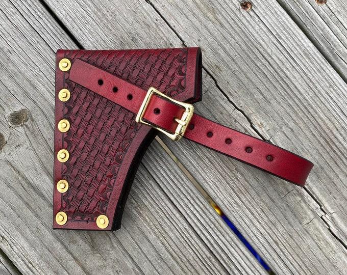 Handmade Leather Axe Sheath