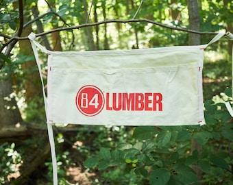 Vintage 84 Lumber nail apron NOS
