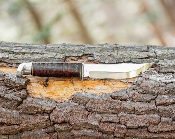 Vintage West Cut Fixed Blade knife