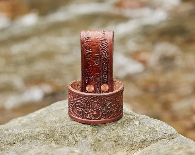 Handmade leather Axe/Hatchet belt hanger