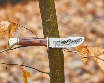 Buck 103 fixed blade knife Ducks Unlimited 1998