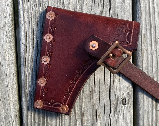Leather Axe/hatchet sheath