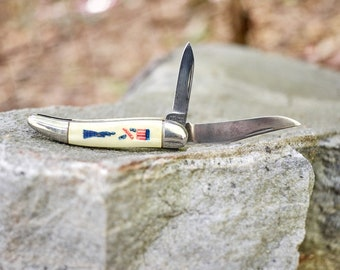 vintage Imperial pocket knife Statue of Liberty