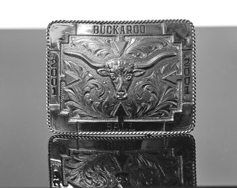 Buckaroo Ball Belt Buckle 2001 Chris Orms Design