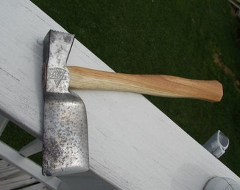 Keen Kutter hatchet with new 12 inch handle of American hickory weighs 1 lb 6 oz