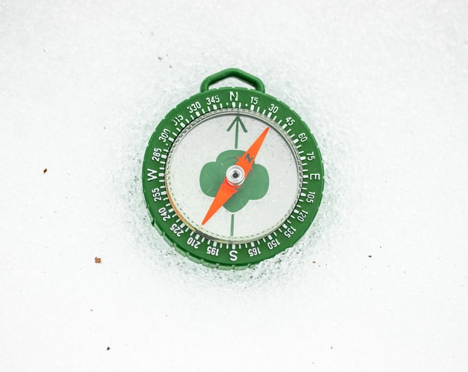 Vintage Girl Scout Compass by Taylor