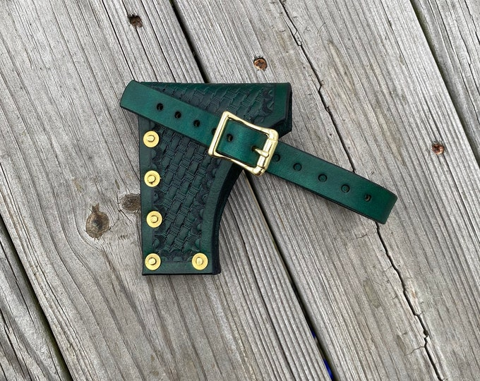Handmade Leather hatchet sheath