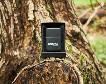 Zippo lighter Grove Manitowoc Zippo unfired heavy equipment