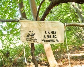 Vintage Nail Apron E.H. Keen & Sons Inc Parkesburg Pennsylvania