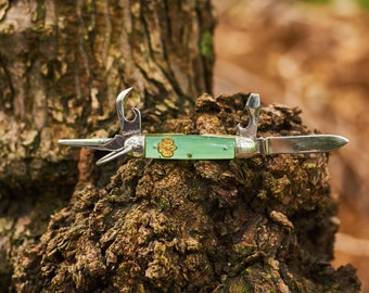 Vintage Girl Scouts of America pocket knife by Kutmaster in Utica New York