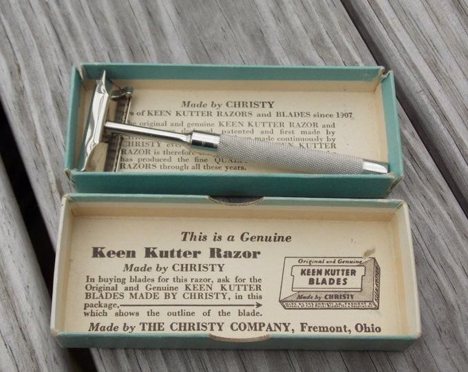 Keen Kutter safety razor with original box