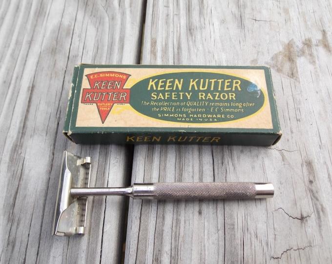 Safetyr Razor E.C Simmons hardware Keen Kutter