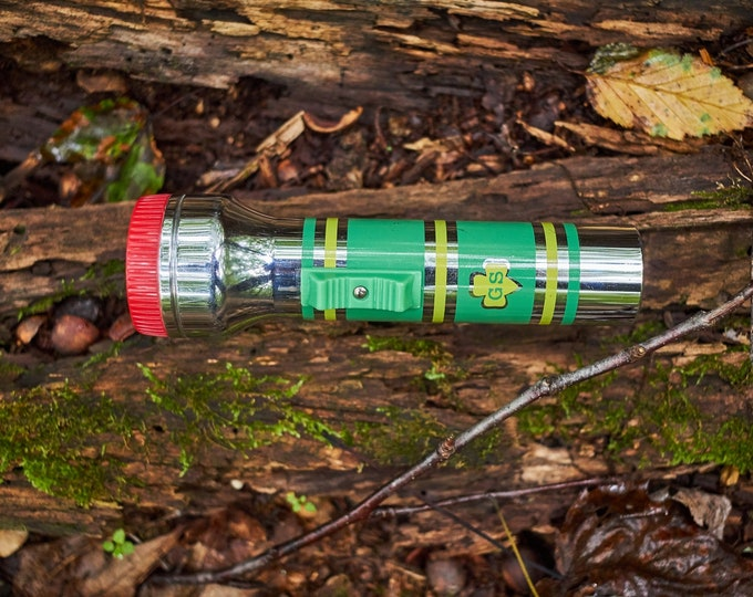 Vintage Girl Scout flashlight in working order
