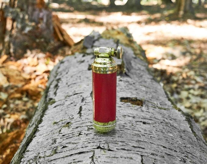 Vintage brass Presto fire extinguisher