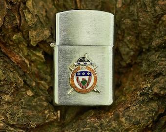 Vintage Howard 3rd Infantry Regiment The Old Guard military lighter