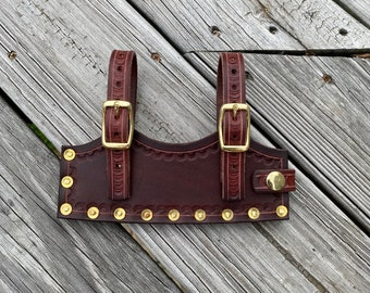 Handmade Leather Cleaver Sheath