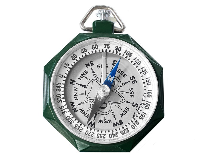 Vintage Girl Scout Compass by Taylor Instruments