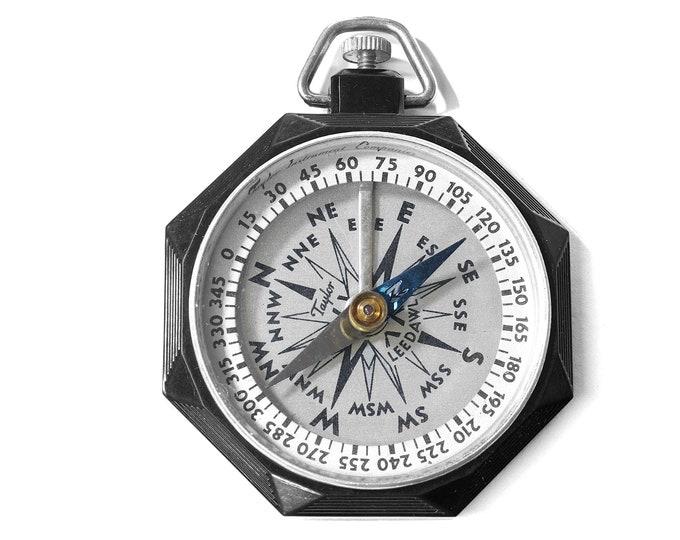 Vintage Taylor Instruments Leedawl Compass