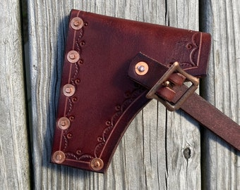 Leather Axe/hatchet sheath