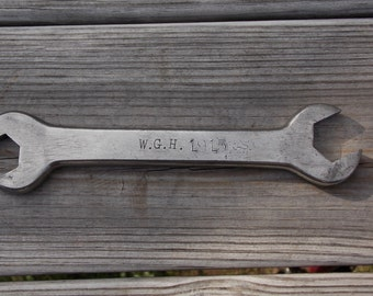 Charles E Hall open end wrench