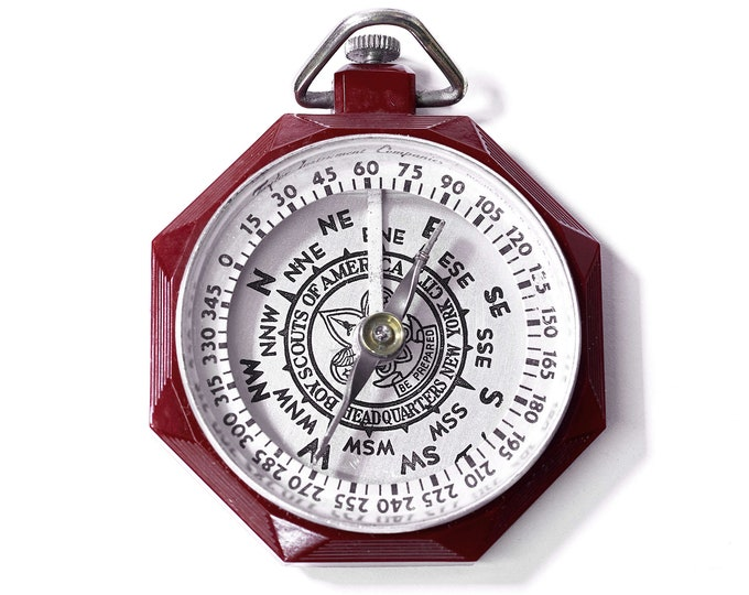 Vintage Boy Scout Compass made by Taylor Instruments