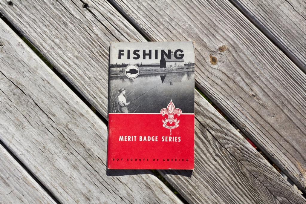 Boy Scouts of America Fishing Merit badge handbook from 1961