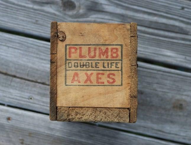 Axe Plumb Axe Box Wooden