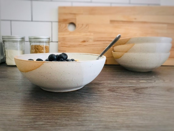 ceramic cereal bowl- pasta dish- multipurpose bowl-kitchenware- bowls- White