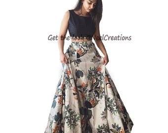 77f8344cb1654 Indian Designer lehenga crop top skirt lehenga choli chaniya choli blouse  top for girls party wear dinner wear
