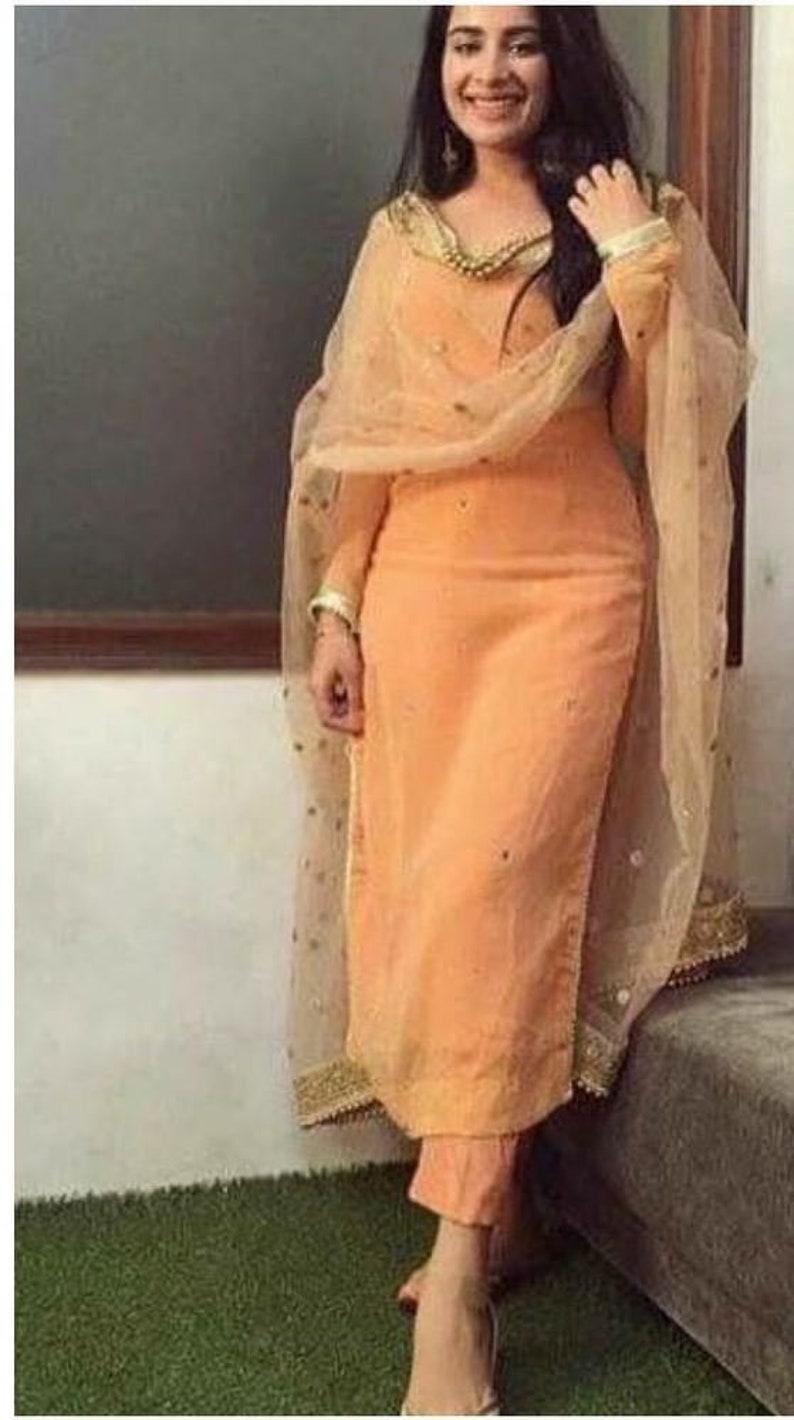 b947014b7 Indian Punjabi salwar suit lehenga designer patiala suit