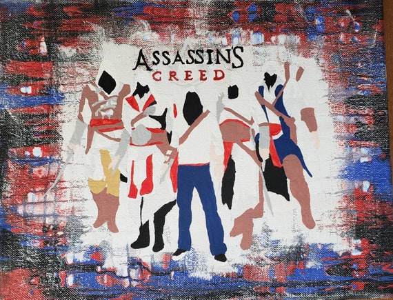 Assassin S Creed Minimalist Art Print Etsy