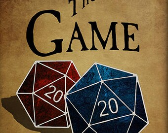 Game Tavern, D20, D&D, DnD, RPG, 20 sided, Dice, Game, Room, Tavern, Club, Dungeons, Dragons, Pathfinder, Art, Print