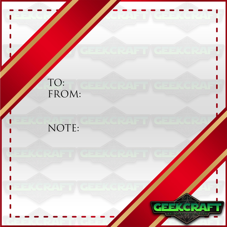 Versand-UPGRADE Weihnachten-Label Geburtstag Tag | Etsy
