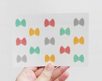 Bow postcard