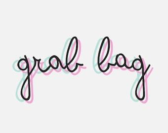 Snail mail grab bag, Stationery random set