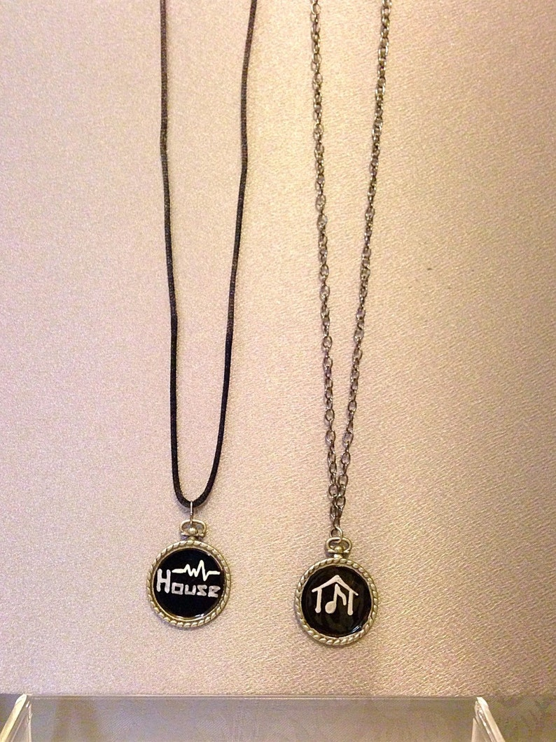 House Music jewelry You Choose which one