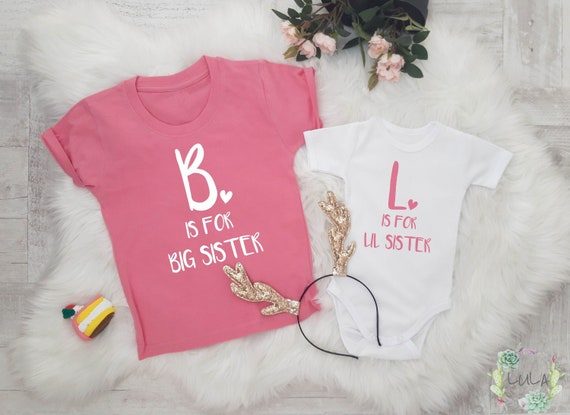 Big Sister Little Sister Outfit Matching Siblings Outfit Big Etsy