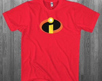 Incredibles T-shirt Halloween cosplay party costume Youth Adult toddler size Tee Shirts