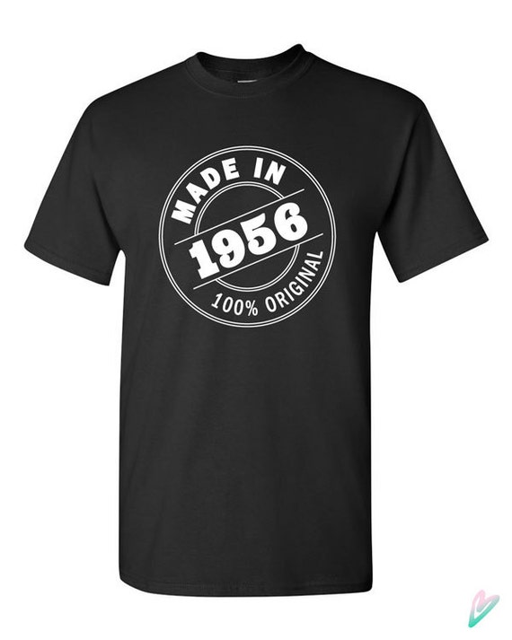 099d355d4b822 Made in 1958 60th Birthday Gift T-shirt Tshirt Tee Shirt 100% Original Gift  for Dad Funny Mom Aged Sixtieth bday gift Grandpa Grandma
