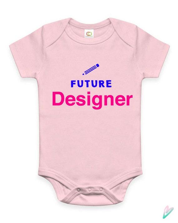 Cute Future Designer Baby Clothes Infant Bodysuit Jumper Baby Etsy