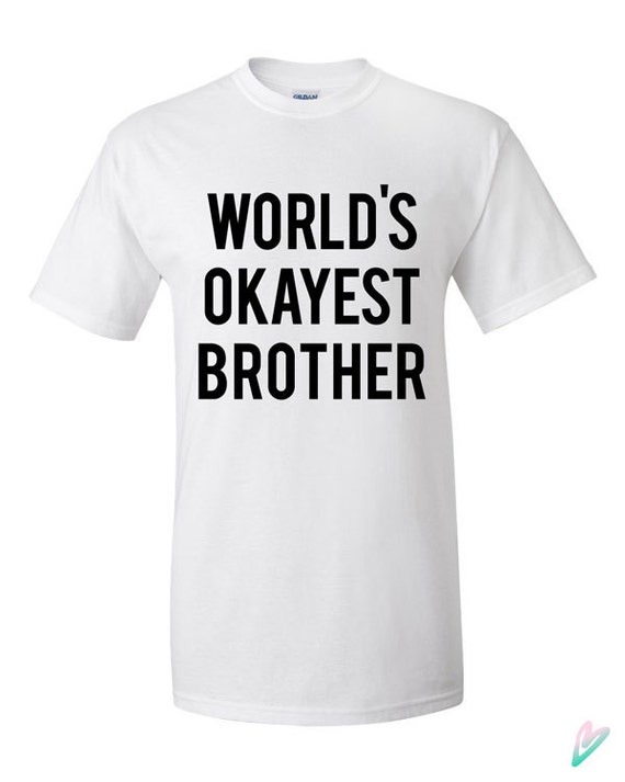 Spoof Daddy T-shirt Funny Father/'s Day Gift Tee World/'s Okayest Dad Tops Shirts