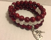 Raging Red Bracelet Set