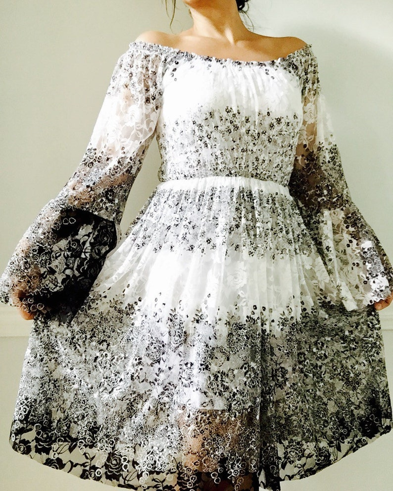 ac5c251e816 Bohemian Lace Dress   Festival Boho Party Dress   Wedding
