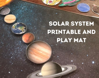 Solar System Print, Homeschool Printables, Planets, Coloring Pages, Teacher Classroom, Educational Posters, Curriculum, Jupiter, Earth