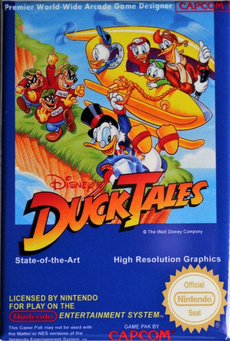 duck tales game