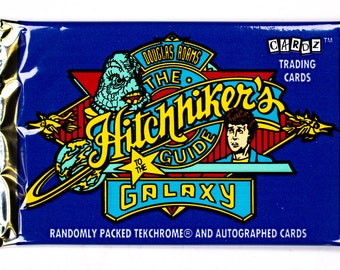 The Hitchhikers Guide to the Galaxy Vintage Trading Cards ONE Pack 1994 Universe