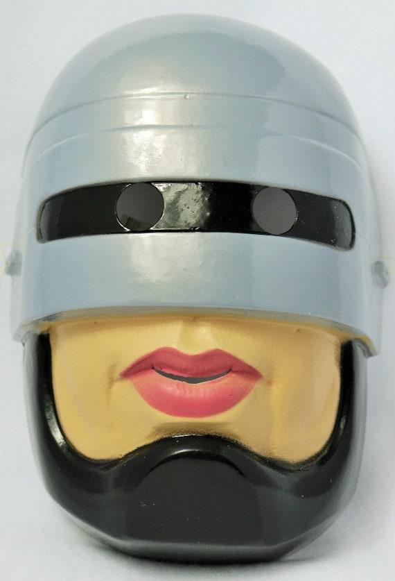 Vintage Robocop Halloween Mask 1994 Collectible Rare Cesar Etsy