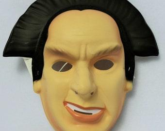 Vintage Babylon 5 Londo Mollari Halloween Mask 1994 Rubies Costume